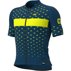 Alé Cycling PRR Stars Kurzarm Trikot Herren petrol/gelb